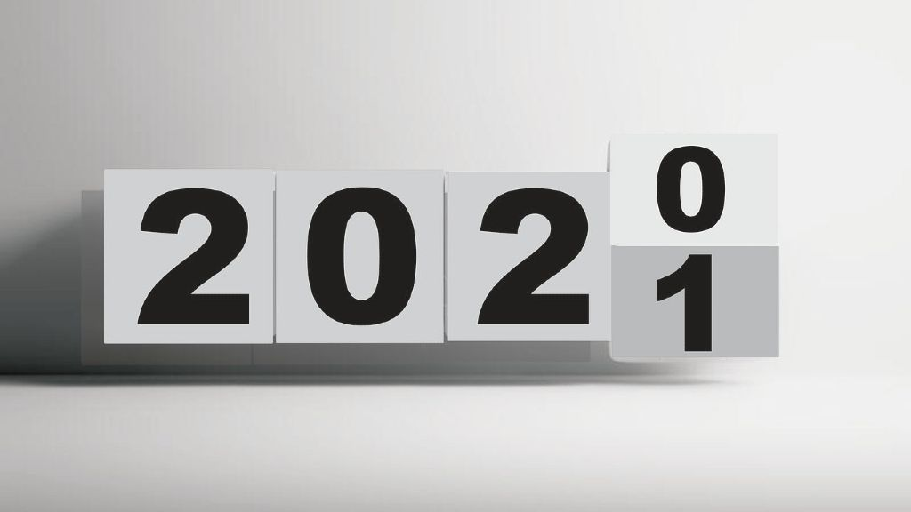 calendar changing from 2020 to 2021